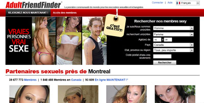 Test, Analyse & Avis sur AdultFriendFinder
